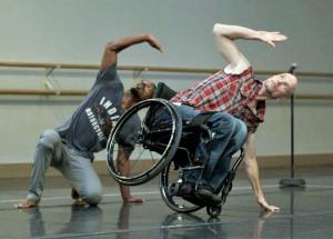 Dwayne Scheuneman Dancer AXIS Dance Company Oakland